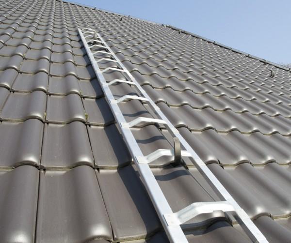 Dachdecker-Auflegeleiter Aluminium mehrteilig