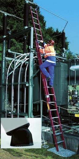 Kunststoff-Seilzugleiter 2-teilig
