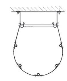 5-fach Rückenschutzverbindung