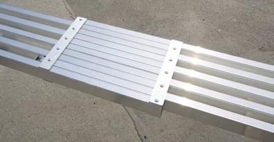 Teleskopdiele Aluminium
