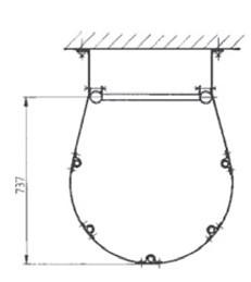 Rückenschutzbuegel für Leitertyp 9289