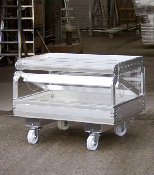Staplerbühne klappbar aus Aluminium