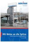 Aufbau- und Verwendungsanleitung Fahrgerüste