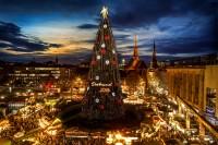 Der größte Weihnachtsbaum der Welt in Dortmund (2016)